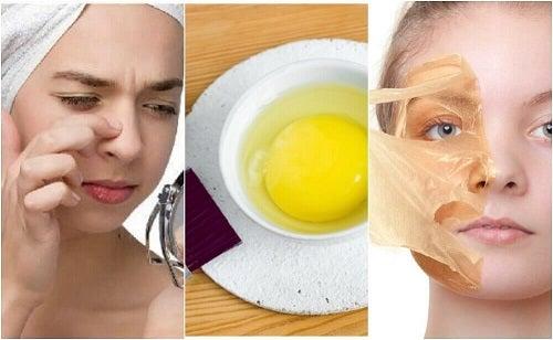 5 măști cu ou pentru înfrumusețarea pielii