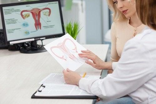 Medici stabilind cum se detectează cancerul ovarian