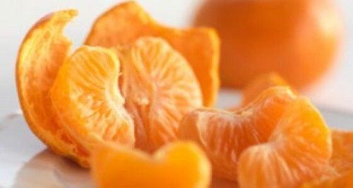 Motive pentru a consuma clementine precum conținutul de vitamina C