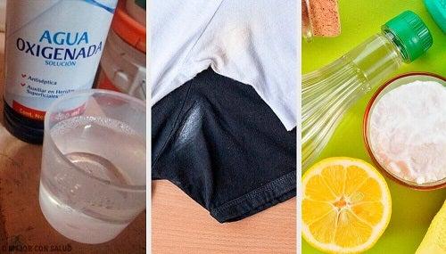 Petele de deodorant de pe haine - 6 trucuri ca să le elimini