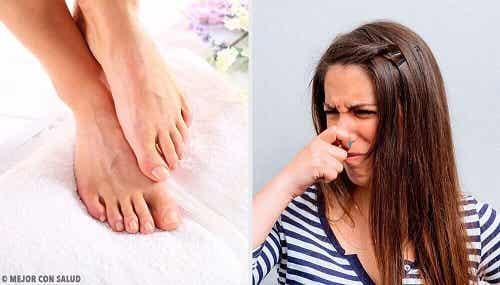 11 remedii împotriva mirosului neplăcut al picioarelor