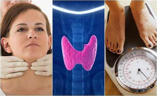 10 semne ale hipotiroidismului