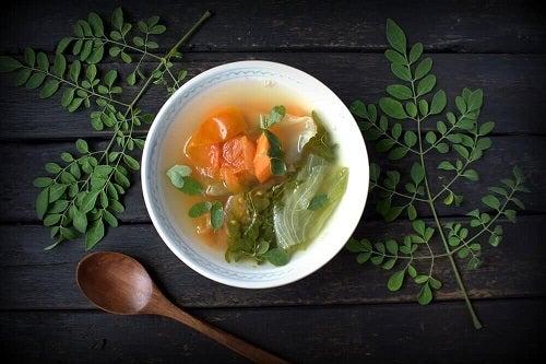 Supe care refac organismul după diaree pe bază de legume