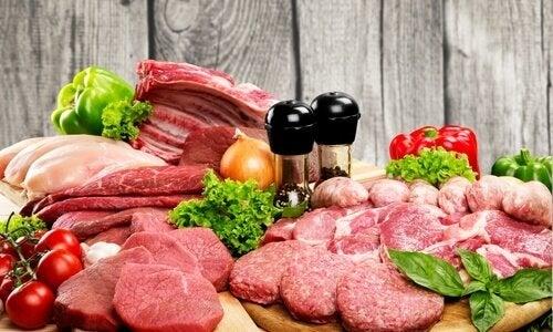 Alimente care stimulează producția de colagen precum carnea roșie