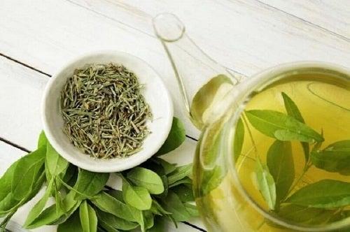 Ceaiul verde pe lista de alimente care stimulează producția de colagen