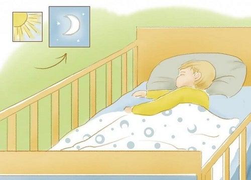 Cum îți înveți copilul să doarmă noaptea
