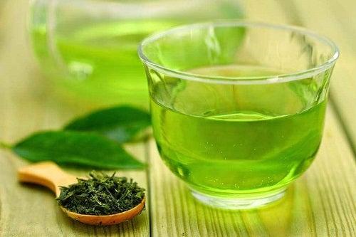 Cum să tratezi ficatul gras cu ceai verde