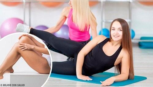 Exerciții pentru tonifierea picioarelor în scurt timp