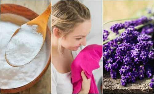 Eliminarea mirosului neplăcut al hainelor - 5 trucuri