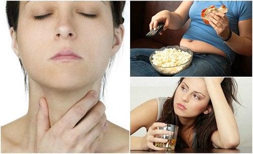 7 factori care afectează sănătatea tiroidei
