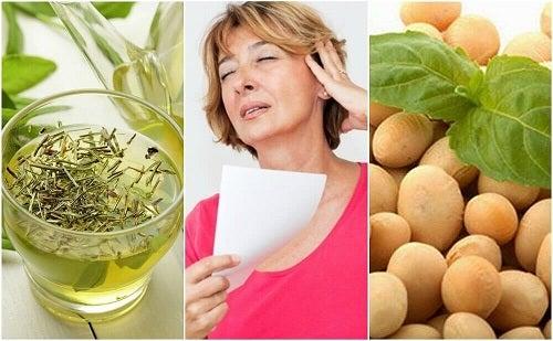 Combate simptomele menopauzei cu 5 produse naturale
