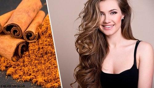 Rețete cu scorțișoară pentru păr – 4 idei pentru păr strălucitor și mătăsos
