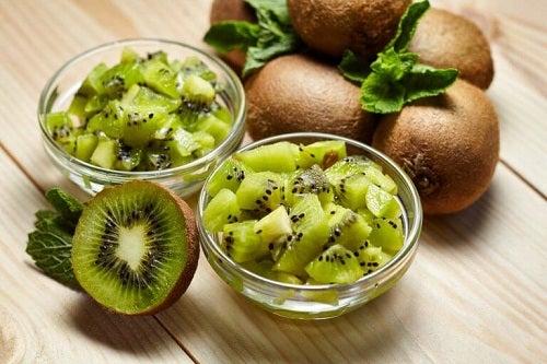 Opțiuni pentru micul dejun cu kiwi
