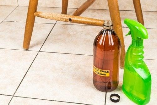 Oțet folosit la curățenie