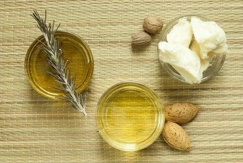 Produse naturale pentru hidratarea pielii cu ulei de migdale