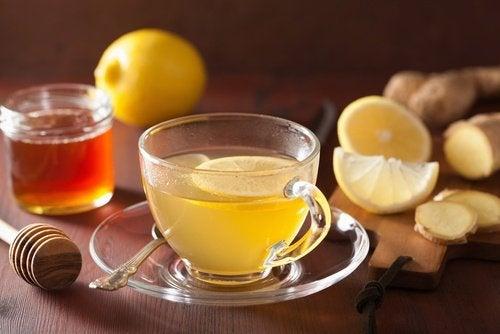 Remedii naturale pentru distensia abdominală preparate cu ghimbir