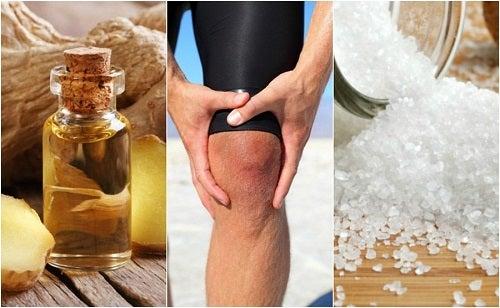 5 remedii pentru ameliorarea durerii de genunchi