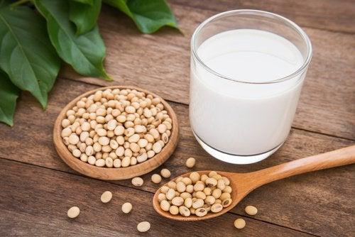 Remedii pentru durerile de oase precum laptele de soia