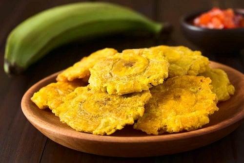 Rețete cu banane plantain prăjite pane în tigaie