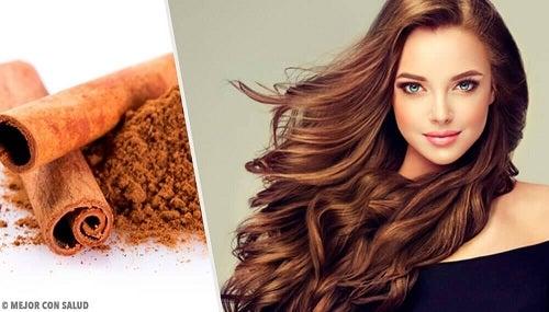 Rețete cu scorțișoară pentru păr mai deschis la culoare