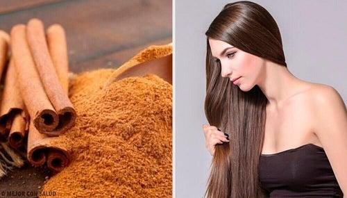 Rețete cu scorțișoară pentru păr lucios și mătăsos