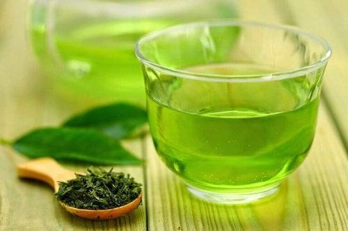 Ceaiul verde ca parte dintr-o dietă pentru iarnă