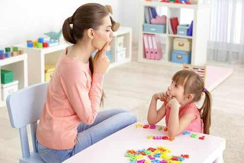 6 exerciții utile pentru copiii cu tulburări de limbaj