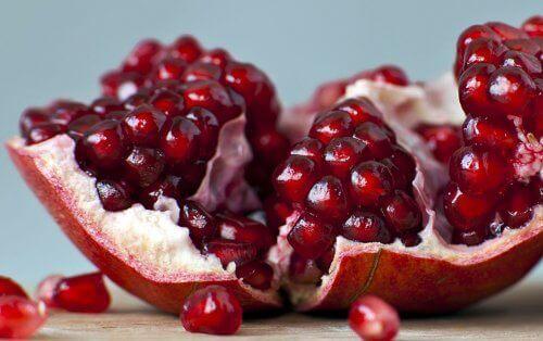 Dietă pentru iarnă bazată pe consumul de rodie
