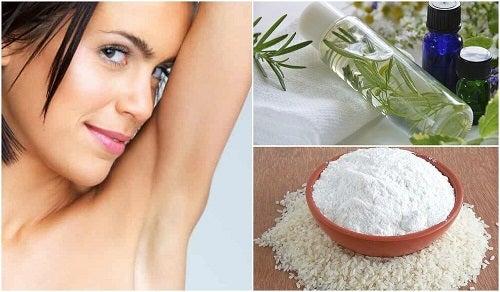Remedii naturale împotriva mirosului de transpirație