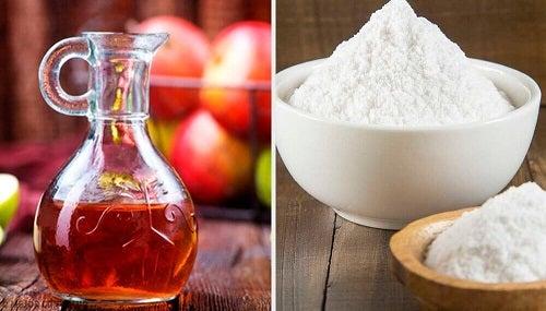 Remedii naturale cu bicarbonat de sodiu și oțet de mere