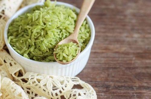 Încearcă o rețetă delicioasă de orez verde