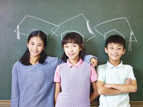 Copiii japonezi sunt ascultători datorită felului în care sunt educați