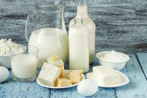 Produsele lactate sunt incluse într-o dietă de slăbit rapidă