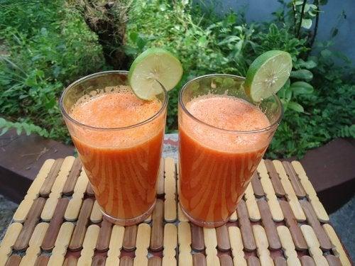 Remedii cu ghimbir, portocale și morcovi pentru îngrijirea pielii