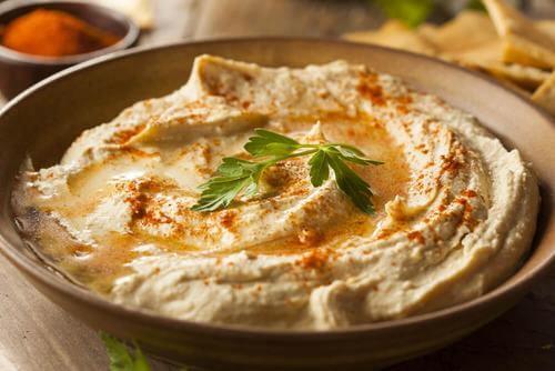 Cum să prepari humus dietetic