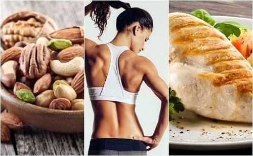 O dietă eficientă pentru tonifierea musculaturii