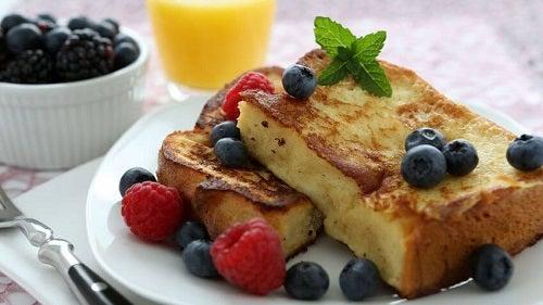 Mic dejun sănătos pentru tonifierea musculaturii