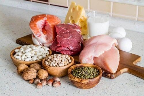 Alimente bogate în proteine pentru tonifierea musculaturii