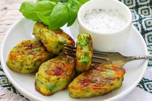 Nuggets-uri vegetariene: 3 rețete delicioase