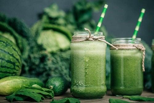 Smoothie-ul verde, aliatul sănătății noastre