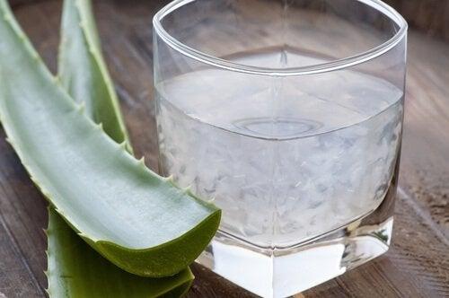 Suc de aloe vera ca remediu pentru hernia hiatală