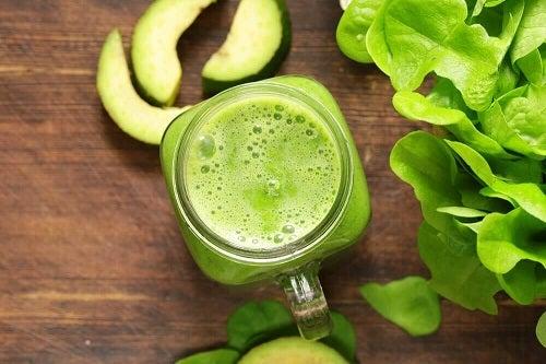 Tonifierea musculaturii cu smoothie-uri verzi