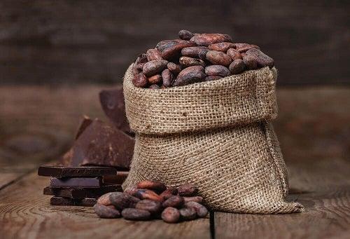 Cacao sub formă de boabe
