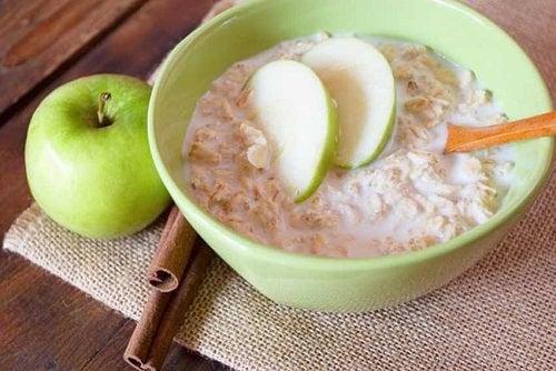 Dieta cu măr verde și cereale integrale