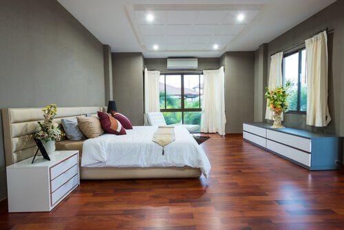 Idei pentru case minimaliste cu dormitor mare