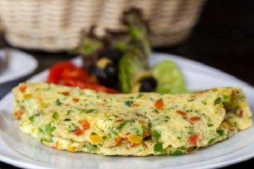 Rețetă de omletă franțuzească cu broccoli