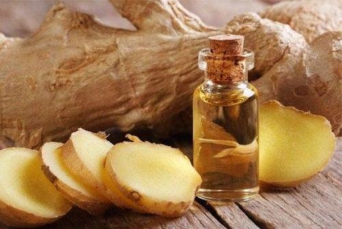 Sirop de ghimbir și ulei de măsline pentru dureri
