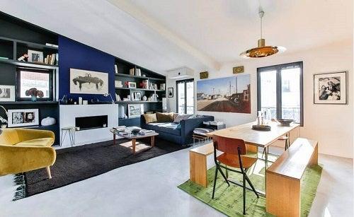 Idei pentru case minimaliste cu spații deschise