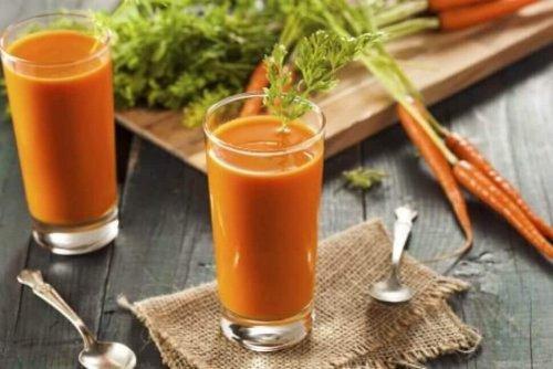 Sucuri din legume pentru slăbit cu morcovi