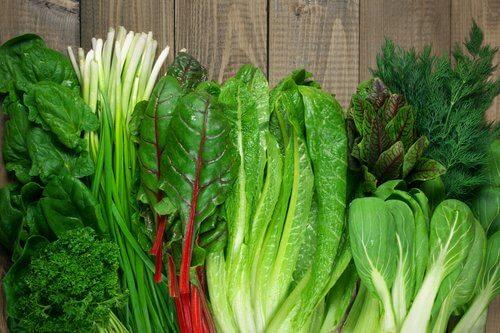 Alimente antiinflamatoare cu frunze verzi